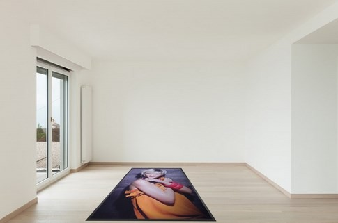 Advertising mat / printing carpet