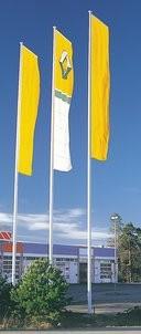 Fiber glas flagpole